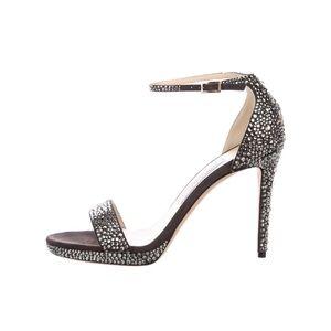 Jimmy Choo Kaylee Crystal Rhinestone Sandals Heels